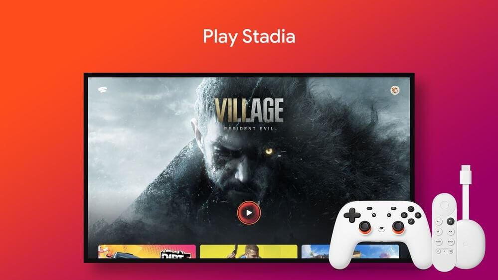 Google Stadia Stadia App on Google TV Android TV GIF